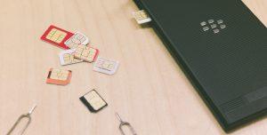 OCNモバイルONEでSIMカードのサイズ変更の記録